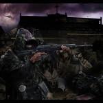 Боевые действия на зоне между сталкерами